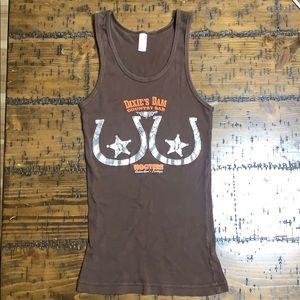 Vintage American apparel hooters tank